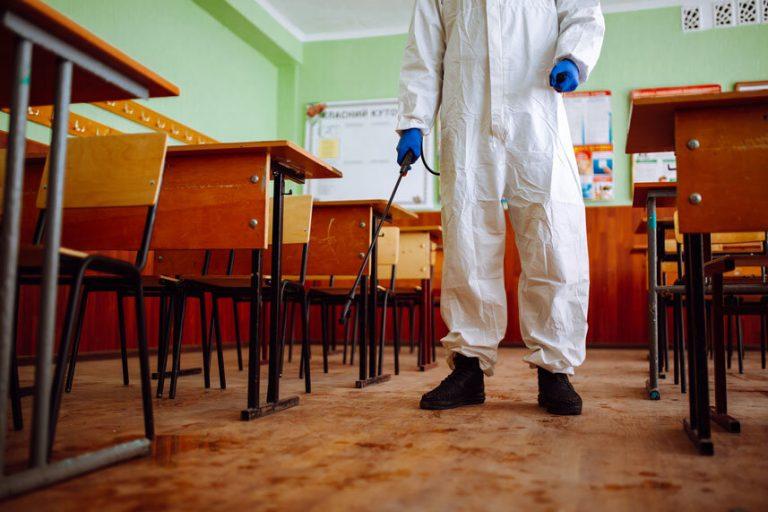 school deep cleaning